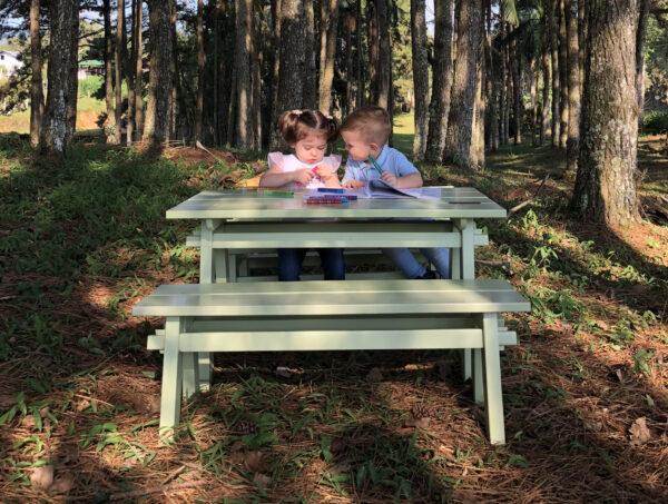 Set de Mesa niños Verde Agua