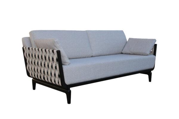 Sofa Triple Bruno Negro