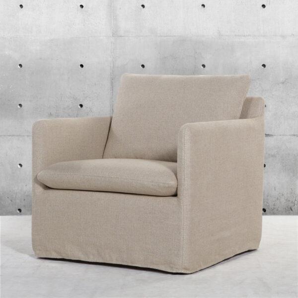 Sofa Single Minimal Lino yute